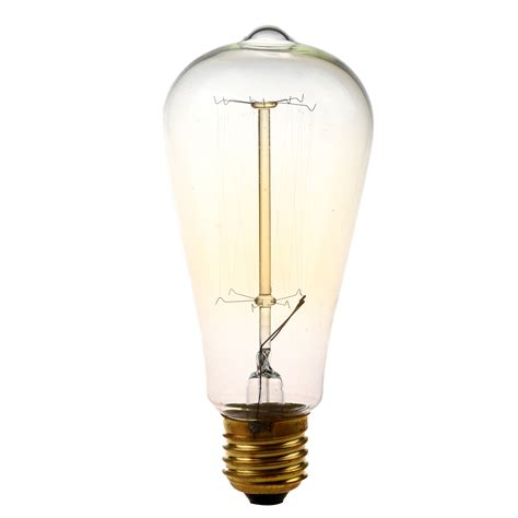 Fashioned Light Bulbs by 1x E27 St64 25w Vintage Light Bulb Retro Filament