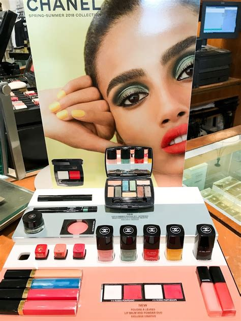 chanel neapolis spring summer  makeup collection