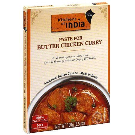 Kitchens Of India Paste Uk by Kitchens Of India Curry Paste For Butter Chicken 3 5 Oz