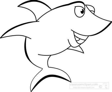 shark outline    clipartmag