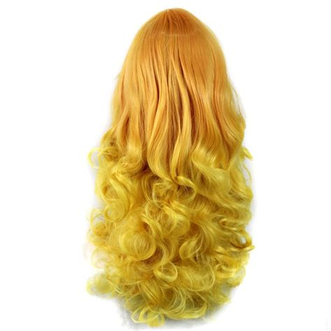 Wiwigs Wiwigs Romantic Long Curly Wig Light Orange