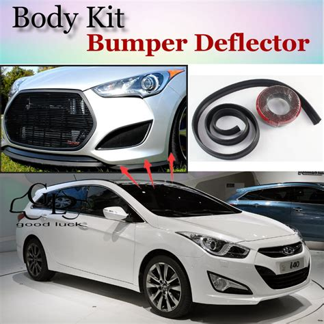 hyundai i40 tuning aliexpress buy for hyundai i40 bumper lip front spoiler deflector for topgear friends