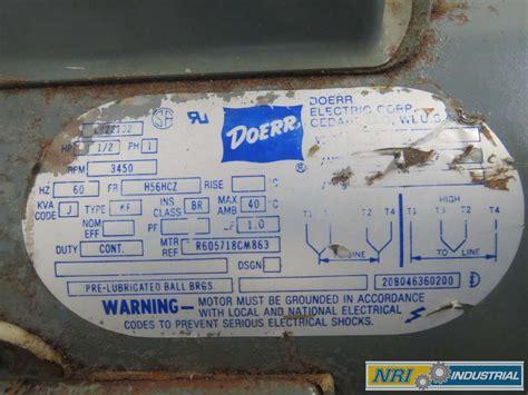 doerr motor lr22132 parts classycloud co