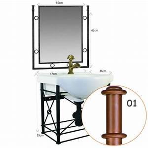 Meuble En Fer : meubles salle bain en fer forg leurs meilleurs prix ~ Teatrodelosmanantiales.com Idées de Décoration