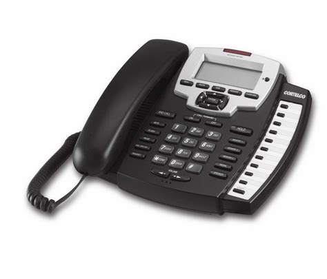polycom analog desk phone cortelco 9125 single line speakerphone new