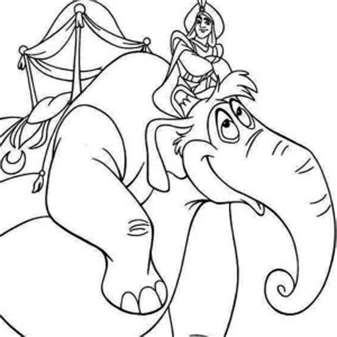 beautiful jasmine  pencil drawing coloring page