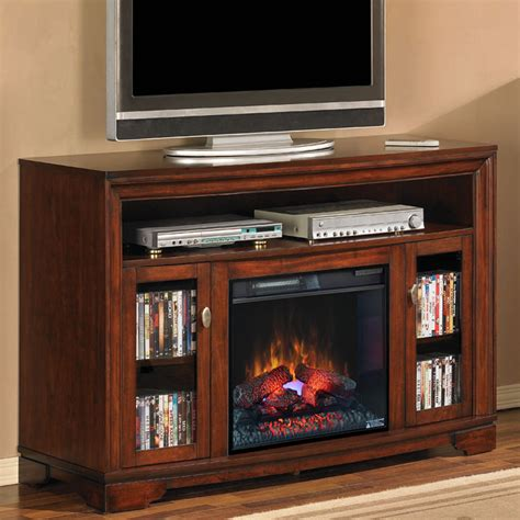 palisades  empire cherry media console electric