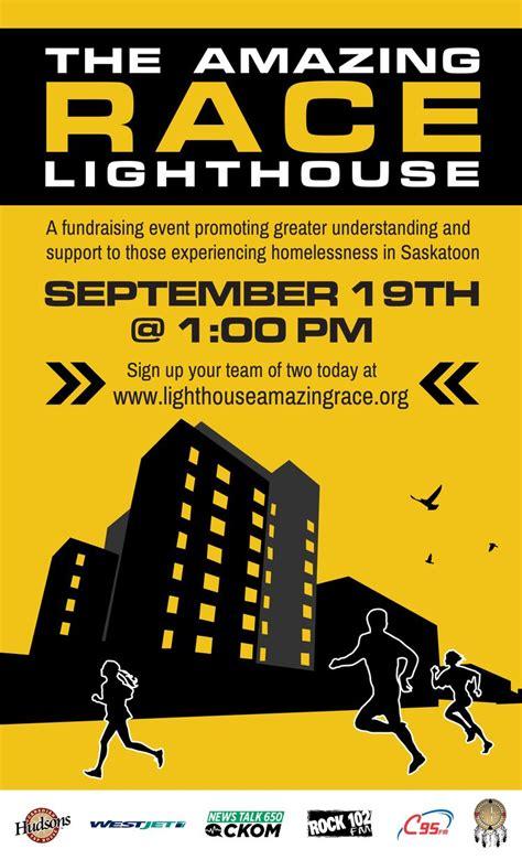 amazing race lighthouse poster design amazing race
