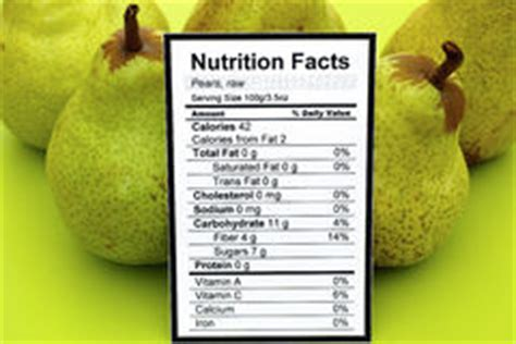 pear nutrition facts stock photo image  serving fruit