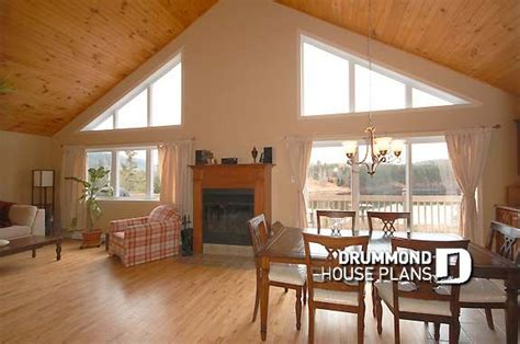 Ceilings  Vaulted Or Cathedral?  Drummond House Plans Blog