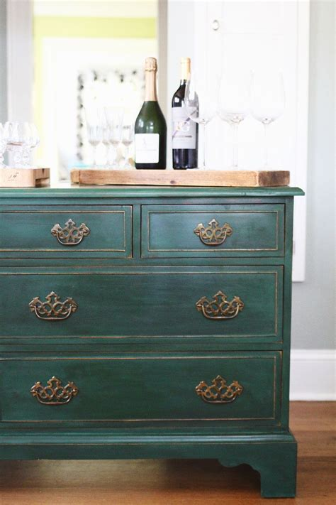 testing new colors annie sloan amsterdam green dresser