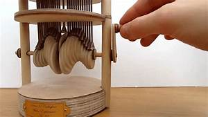 A Hand-Cranked Automaton That Mimics the Effect of a