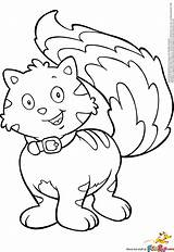 Coloring Pages Cattail Template sketch template
