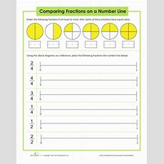 Comparing Fractions  Worksheet Educationcom