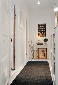 Deco Couloir Blanc : 1001 moyens de changer d 39 ambiance avec une id e d co ~ Zukunftsfamilie.com Idées de Décoration