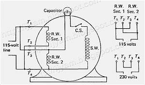 dual voltage ac motor wiring diagram fasettinfo With dual amp wiring kit with capacitor
