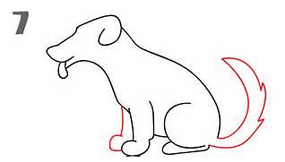 How to Draw Reks the Dog with Easy Step by Step Drawing Tutorial for    How To Draw A Puppy
