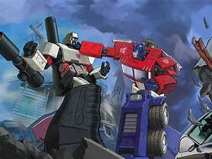 Peter Cullen and Frank Welker on voicing Optimus Prime and ...