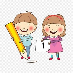 Child Study skills Learning Clip art - Happy Children ...