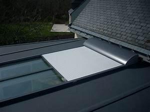 Puit De Lumière Toit Plat : volet roulant aluminium pour toiture v randa ~ Dailycaller-alerts.com Idées de Décoration