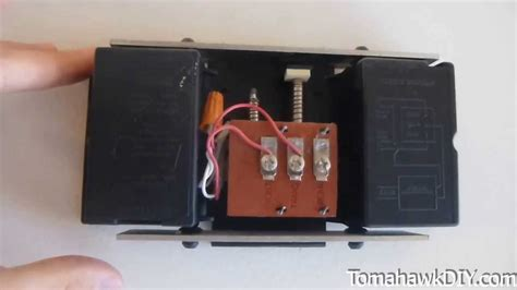 how to install a doorbell with transformer side of easy repair for broken doorbell youtube