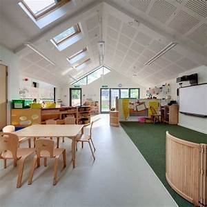Infant school in england gets a playful and functional new for Interior design school england