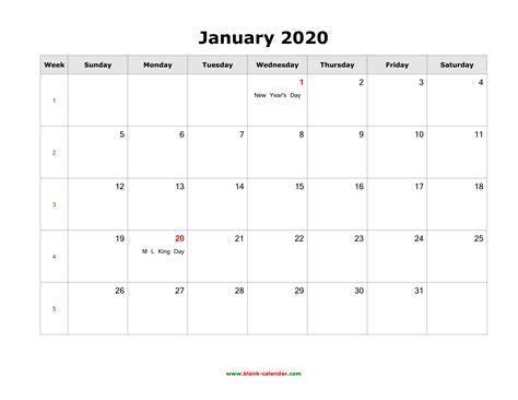 blank calendar january qualads
