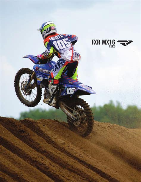 fxr motocross gear mx 2016 fxr booking catalog by fxr racing issuu