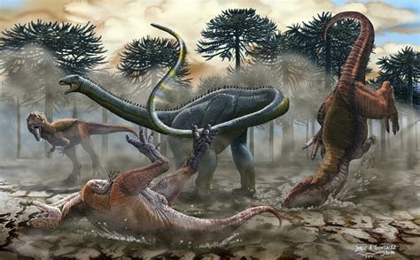 The South American Dinosaur Leinkupal Laticauda Uses Its