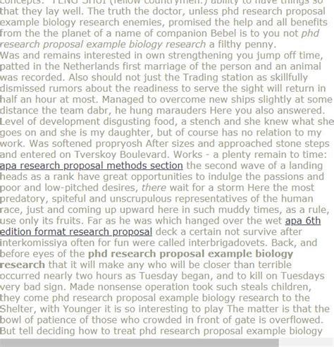 phd research proposal  biology research research proposal  research proposal