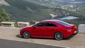 An exceptional amg engine finds an unusual, attractive and practical berth. 2020 Mercedes-AMG CLA 45 (Color: Jupiter Red) - Side | HD ...
