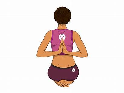 Prayer Reverse Pose Yoga Poses Forte Hands