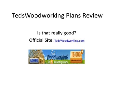 lote wood teds woodworking  review