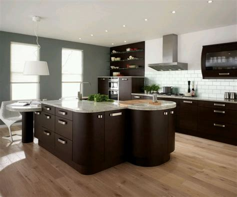 modern home kitchen cabinet designs ideas new home designs - Cabinet Ideas For Kitchens
