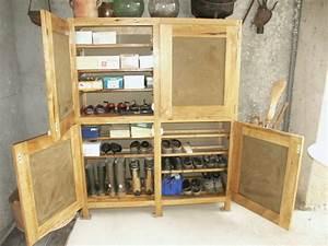 Fabriquer Meuble Bois : fabriquer un meuble chaussure en bois ~ Voncanada.com Idées de Décoration