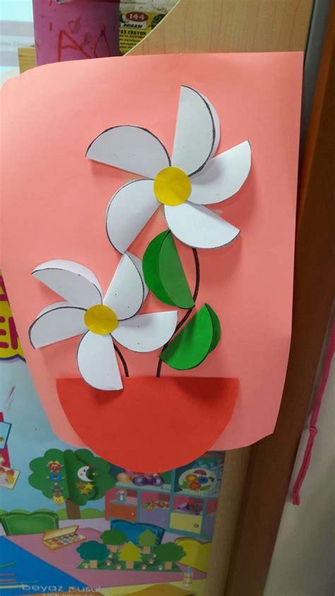 flowers greeting blumen basteln basteln fruehling