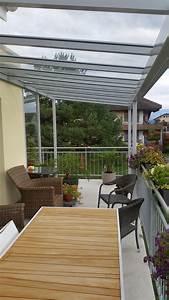 Wintergarten Ohne Glasdach : with metallbau ag balkon glasdach mit windschutz ~ Sanjose-hotels-ca.com Haus und Dekorationen