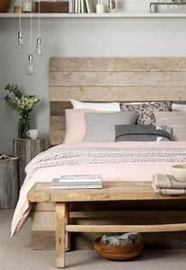 Idee Deco Avec Des Photos : 1001 conseils et id es pour une chambre en rose et gris ~ Zukunftsfamilie.com Idées de Décoration