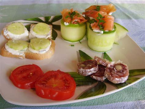 cuisine canalblog bouchées de concombre au saumon fumé week ends cuisine
