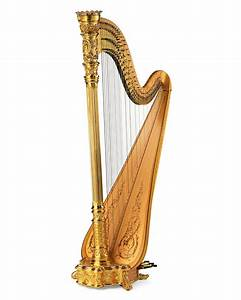 STYLE 23 GOLD CONCERT GRAND PEDAL HARP