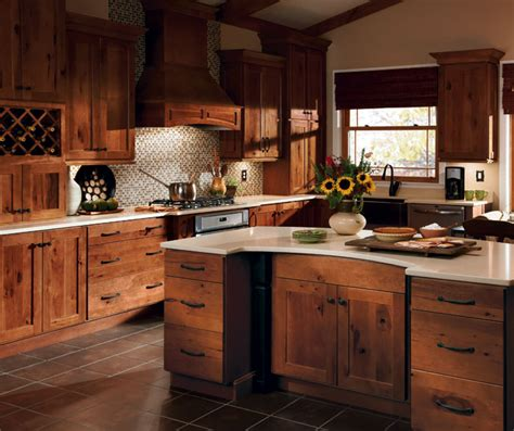 kitchen cabinets rustic style hickory shaker style kitchen cabinets 6369