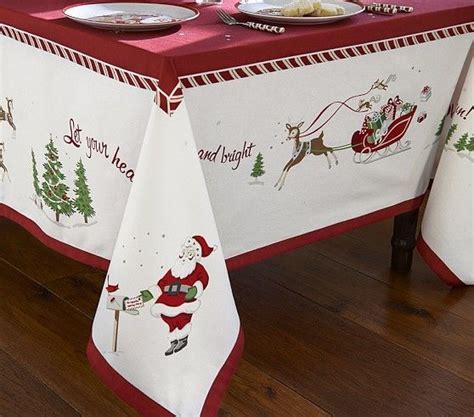 christmas tablecloth christmas tablecloth pottery barn kids christmas pinterest
