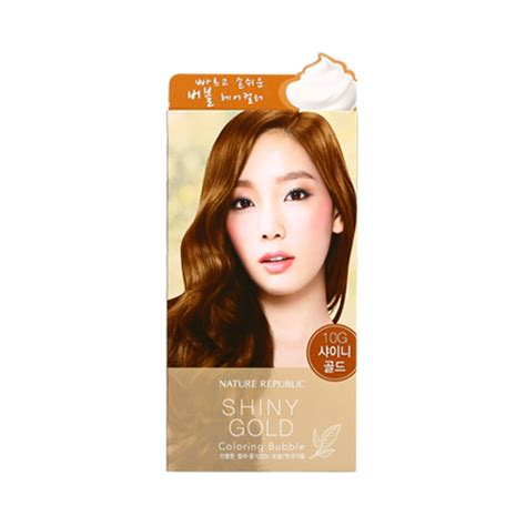Coloring Hair Korean by Korean Cosmetics Nature Republic Hair And Nature