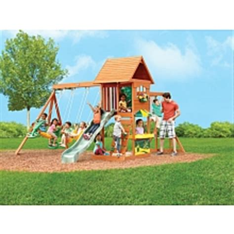 Big Backyard By Solowave by Big Backyard Cove Swing Set Kidkraft Toys Quot R Quot Us
