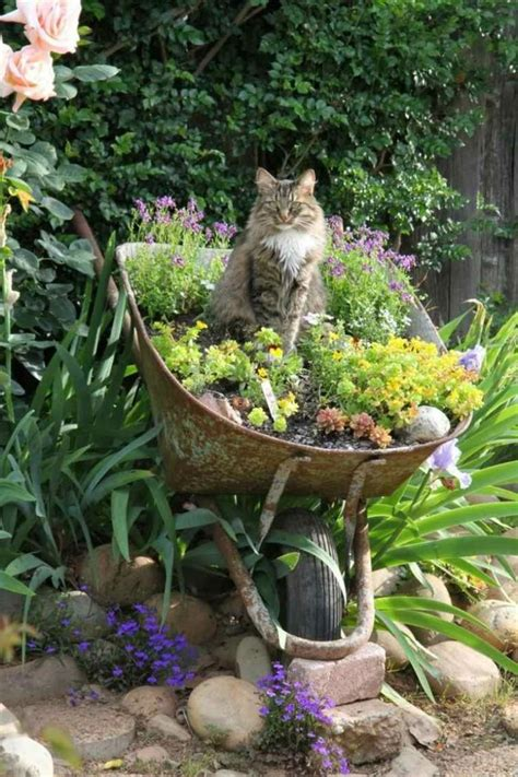 Hängender Garten Selber Machen by Die Besten 25 Gartendeko Selber Machen Ideen Auf