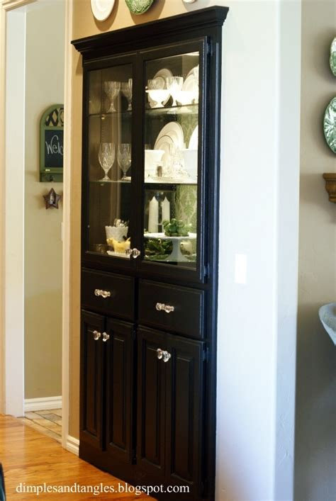 built in china hutch 1000 ideas about corner china cabinets on