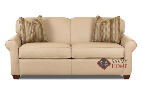 Beeson Sleeper Sofa by Calgary Leather Sleeper Sofas By Savvy Is Fully