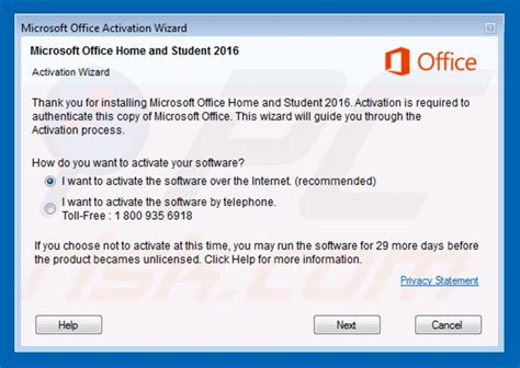 activation wizard for ms office home and business 2016 won t start microsoft community