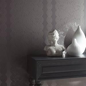 Tapisser Avec 2 Papiers Differents : papier peint intiss pour en finir avec la table tapisser galerie photos d 39 article 2 5 ~ Nature-et-papiers.com Idées de Décoration