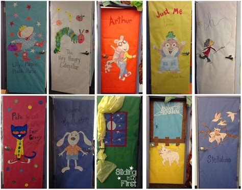 Pete The Cat Classroom Decorations by Classroom Door Decorations Books Pete The Cat